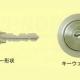 ロッキングバー方式と回転式タンブラー採用のロータリーディスク U9シリンダー